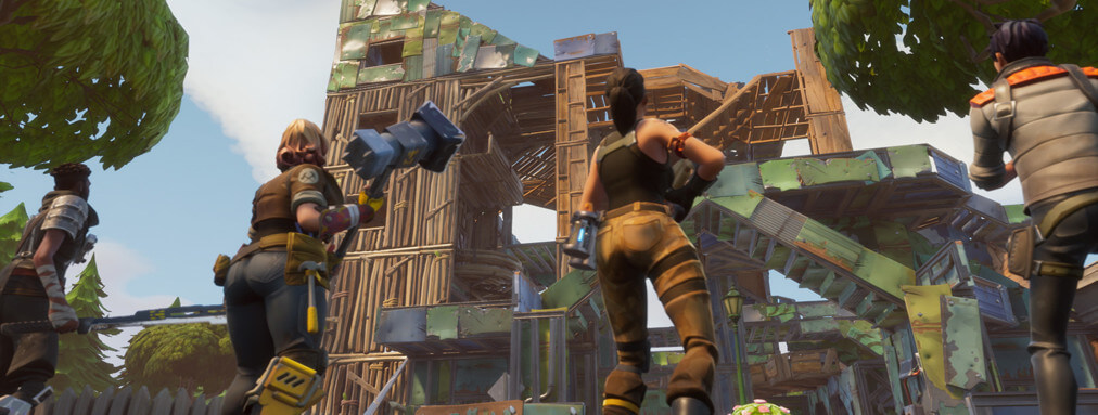 fortnite construction